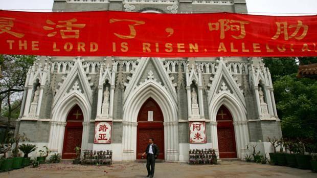China cierra 100 iglesias en las últimas semanas