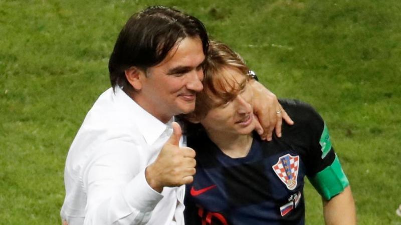 Técnico de Croacia dice que se basó en la fe para llegar a semifinal de la Copa