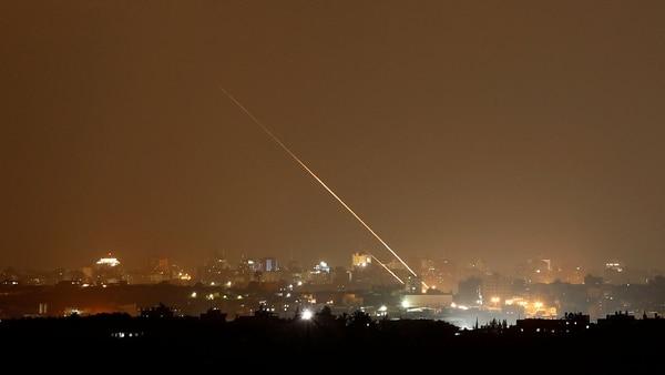 Alerta en Israel tras un feroz bombardeo desde Gaza