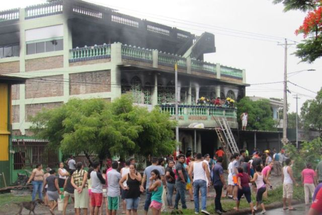 ONU culpa a policías de Ortega de quemar viva familia cristiana