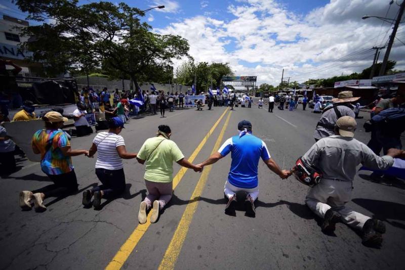 Nicaragua: en medio de crisis, pueblo clama a Dios en las calles