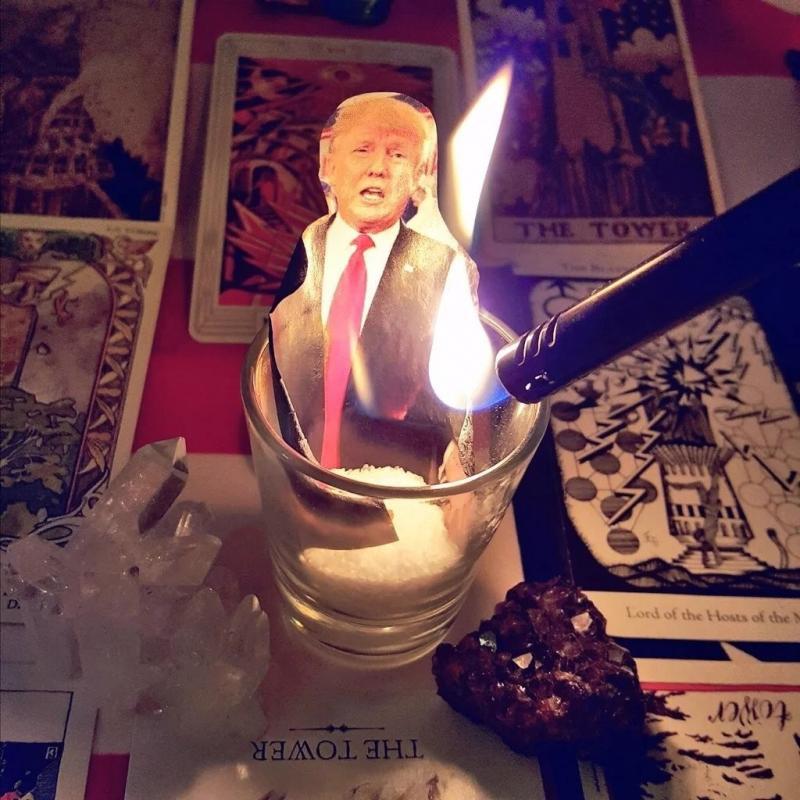 Satanistas dicen que trabajan contra Trump y cristianos