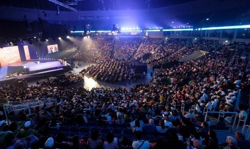 Más de 100 mil personas adoran a Dios en Perú