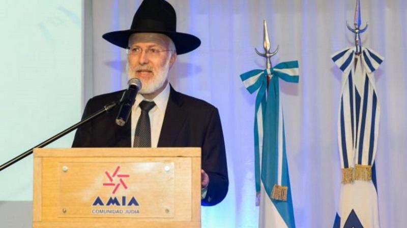 Jefe rabino en estado grave tras ser atacado en Argentina