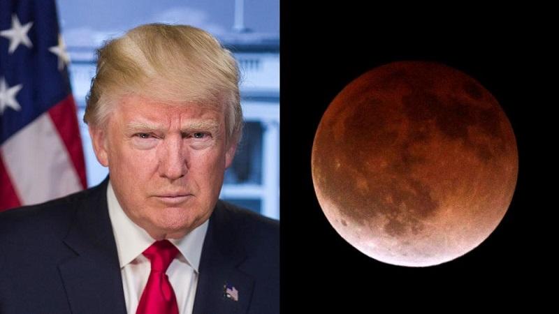 Pastor hace conexión entre Luna de Sangre y Trump
