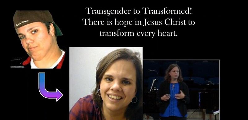 """Ella vivió como """"Jake"""" durante casi 10 años hasta que aceptó a Cristo"""