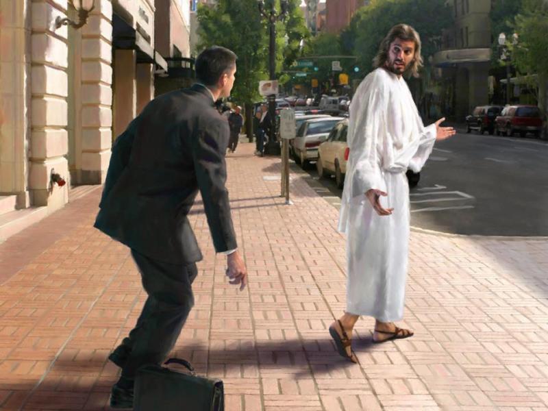 Devocional: Siguiéndole a Él